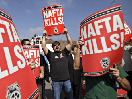 peoplesworld.org - Mark Gruenberg - Labor to oppose rush to enact 'New NAFTA'