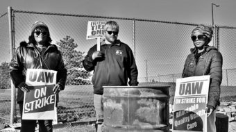 GM battleground: On the Detroit-Hamtramck picket line with the UAW